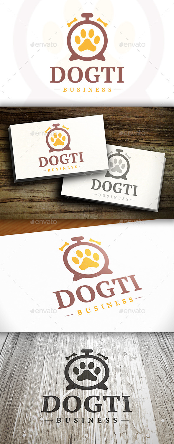 Pet Time Logo - Symbols Logo Templates
