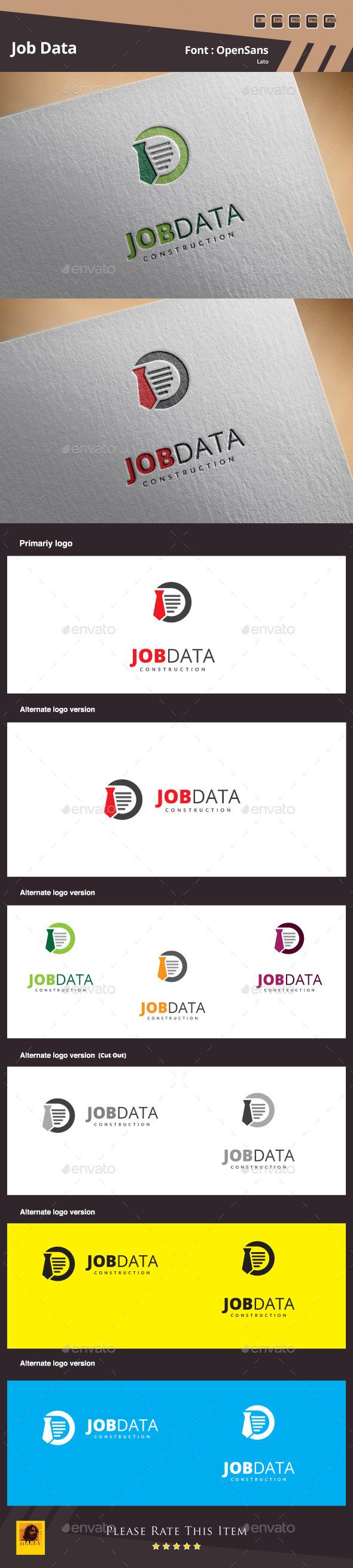 Job Data Logo Template - Symbols Logo Templates