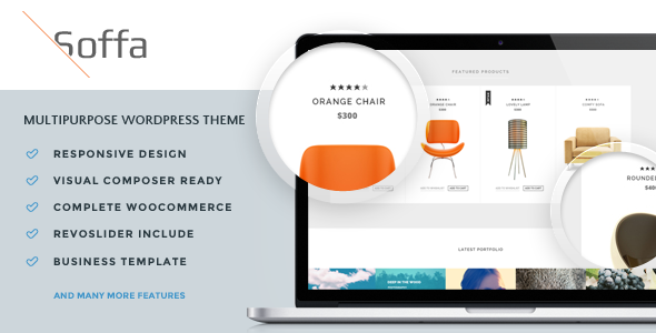 Soffa – Furniture & Business WordPress Theme