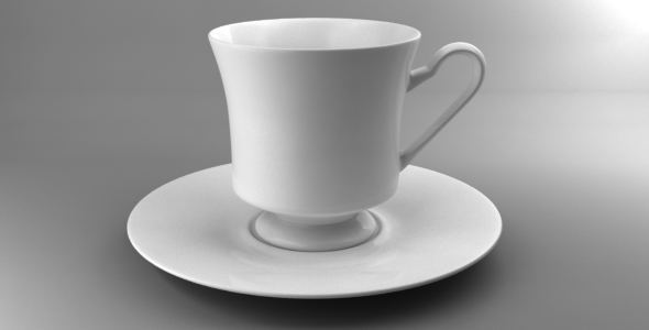 Coffee Tea Cup 001 - 3DOcean Item for Sale