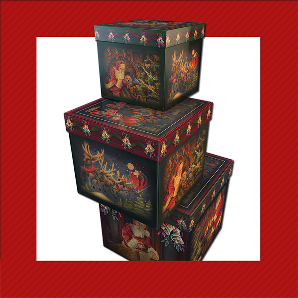 Gift Box Christmas Decoration 18 By Icevalley 3docean