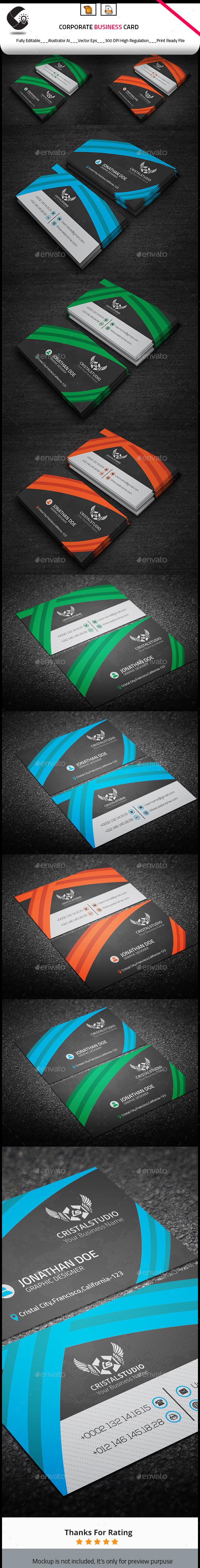 Stylish Creative Business Card - Creative Business Cards