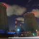 Thermal Power Plant at Night Pack 1 - VideoHive Item for Sale