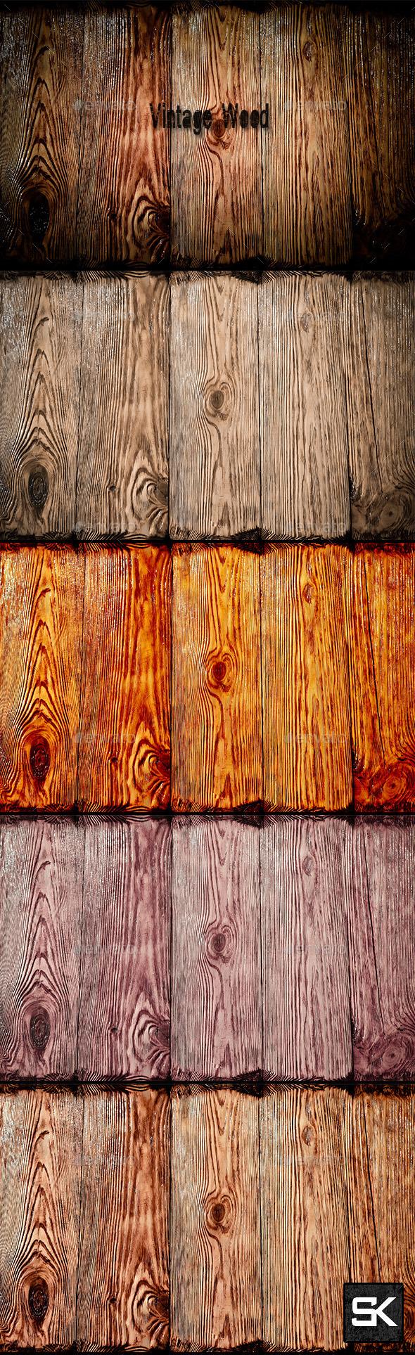 Vintage Wood 3 - Wood Textures