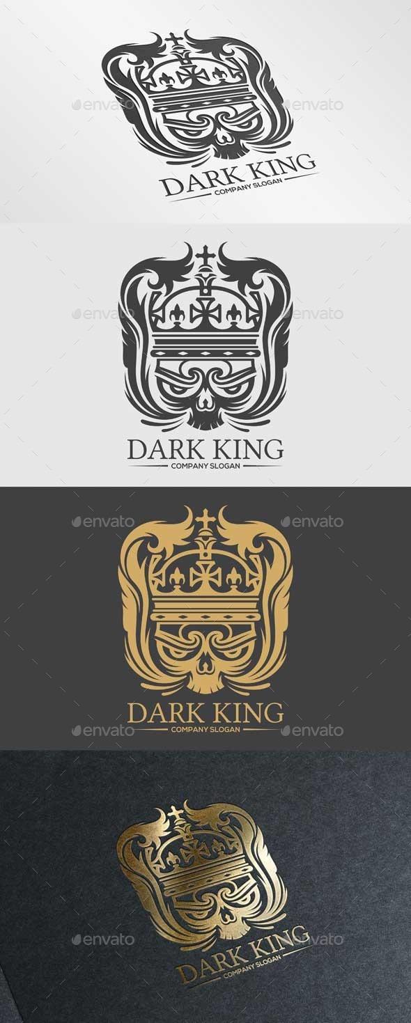 Dark King - Crests Logo Templates