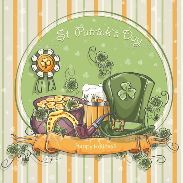 Greeting Card for St. Patrick's Day - Miscellaneous Seasons/Holidays
