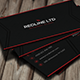 RedLine Corporate Business Card - GraphicRiver Item for Sale