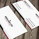 RedLine Modern Business Card