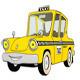 Cartoon Taxi Cab - GraphicRiver Item for Sale