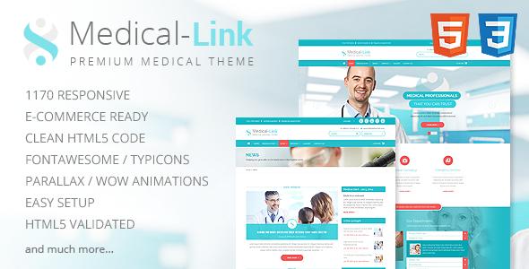 Medical-Link – Responsive Medical Template