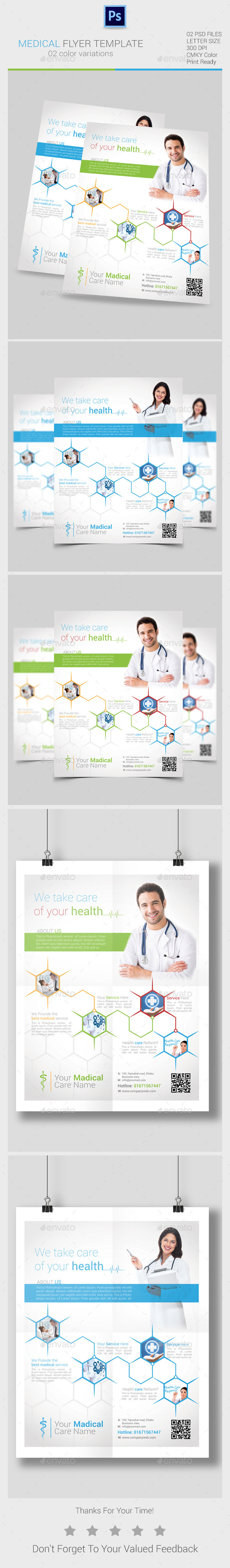 Medical Flyers Templates - Corporate Business Cards