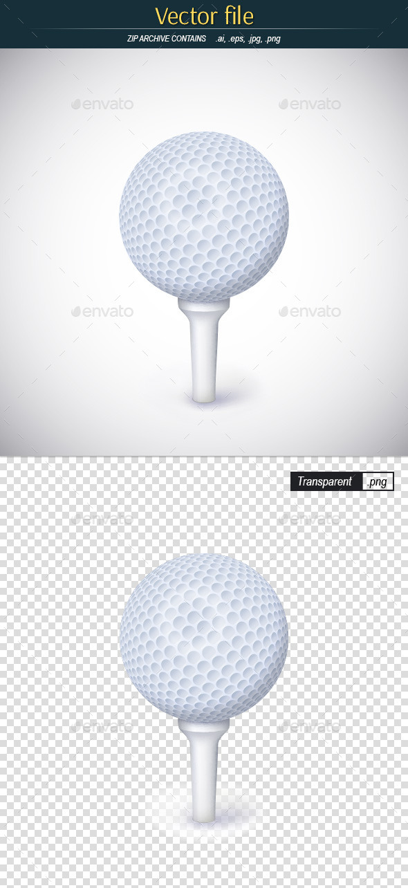 Golf Ball - Man-made Objects Objects