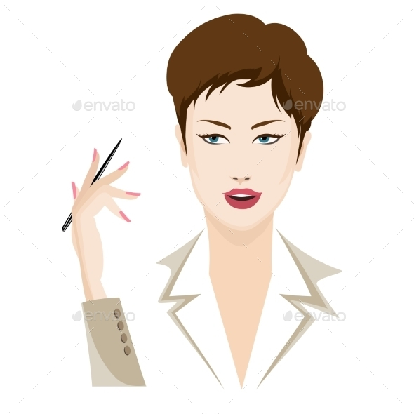 Business Lady - Business Conceptual