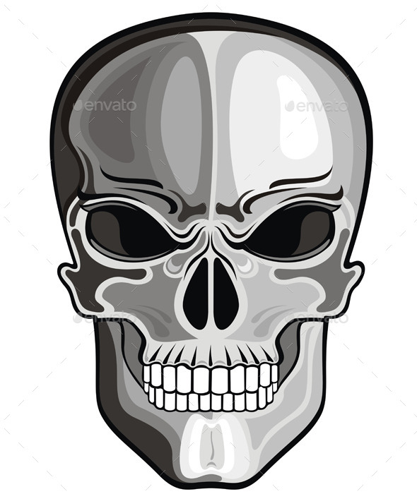 Skull - Decorative Symbols Decorative