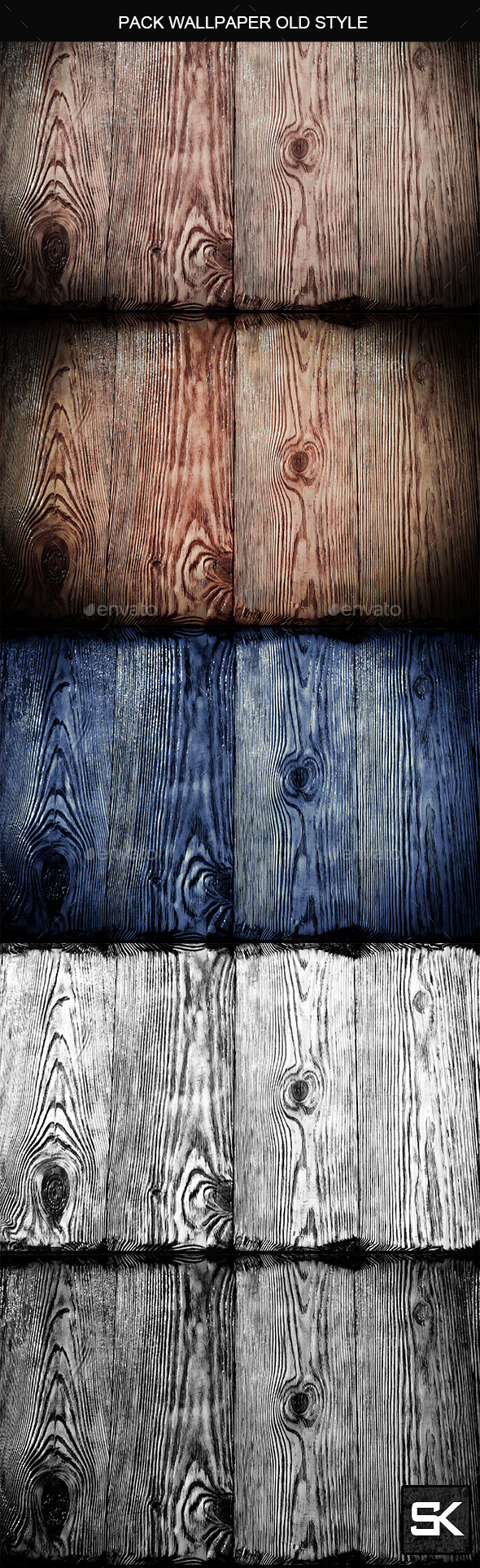 Wood Backgrounds 2 - Nature Backgrounds