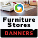 Furniture Stores Banners - GraphicRiver Item for Sale
