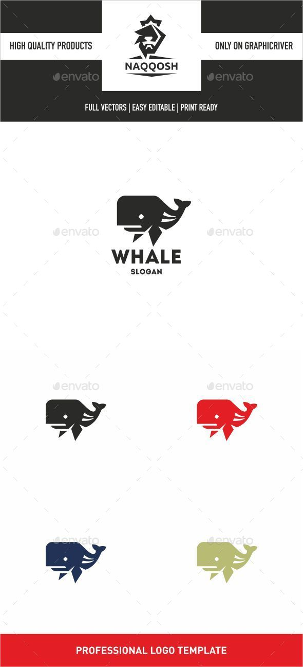 Whale  - Vector Abstract