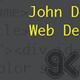Web Developer Business Card - GraphicRiver Item for Sale
