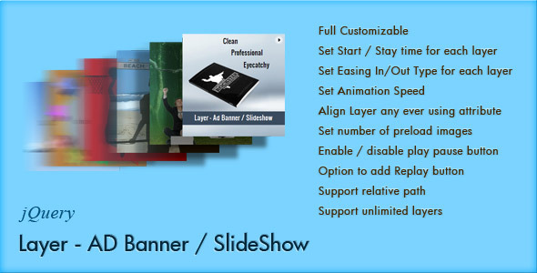 Layer - jQuery Ad Banner / Slideshow - CodeCanyon Item for Sale