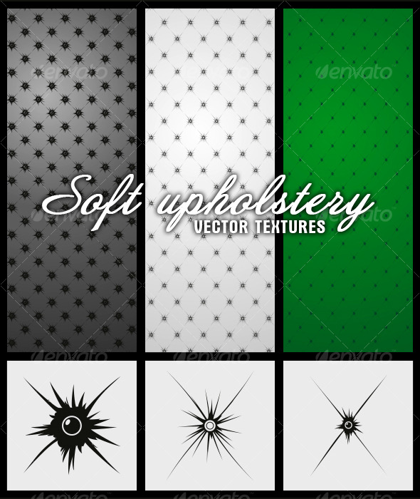 Vector Textures: Soft Upholstery - Miscellaneous Textures