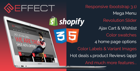 Effect - Responsive Shopify Theme - Fashion Shopify