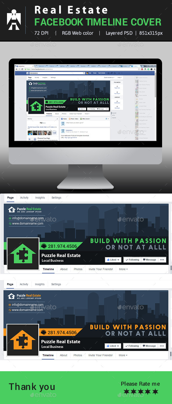 Real Estate Facebook Timeline Cover - Facebook Timeline Covers Social Media