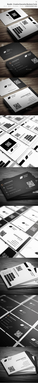 Bundle - Creative Executive Business Cards - 71 - Creative Business Cards