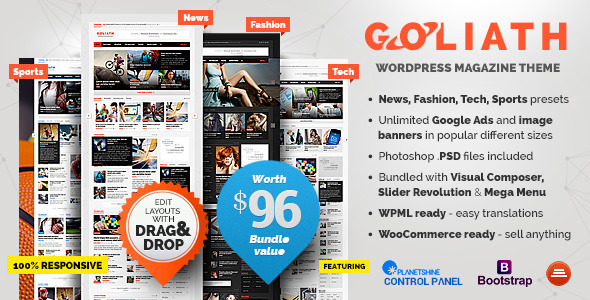 GOLIATH - Ads Optimized News & Reviews Magazine