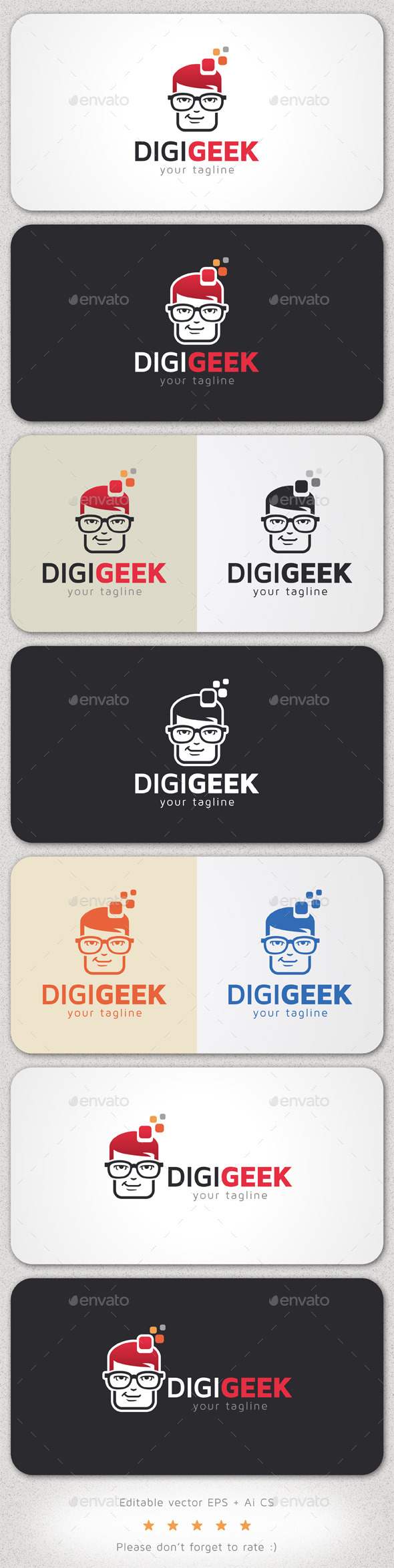 Digital Geek Logo - Logo Templates