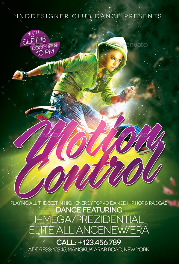 Motion Control Flyer