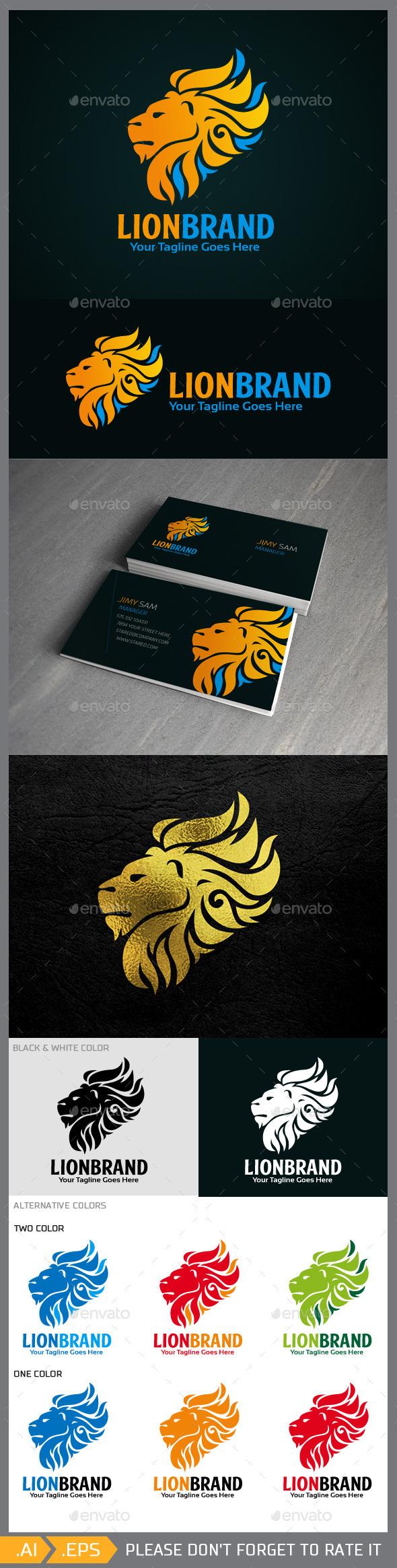 Lionbrand Logo Template - Animals Logo Templates