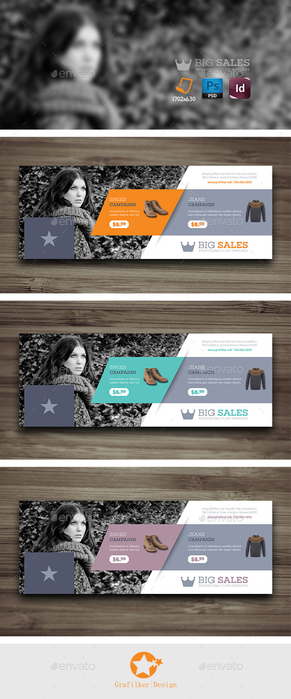 Shopping Cover Templates - Facebook Timeline Covers Social Media