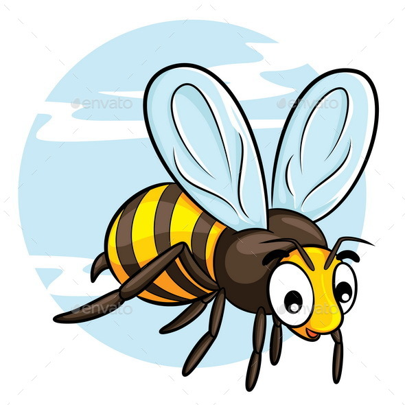 Bee Cartoon - Animals Characters