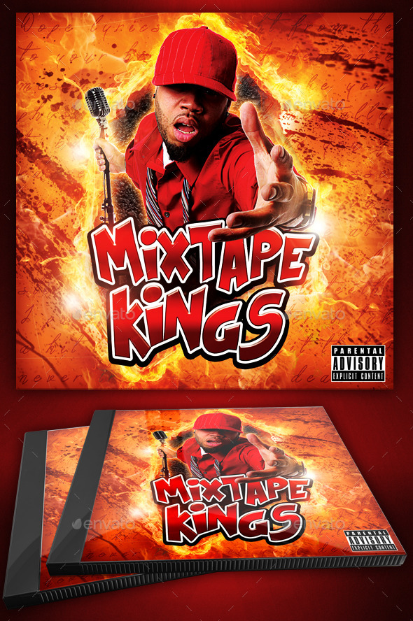 Hip Hop Flyer Or Cd Template  Mixtape Kings By YellowEmperor