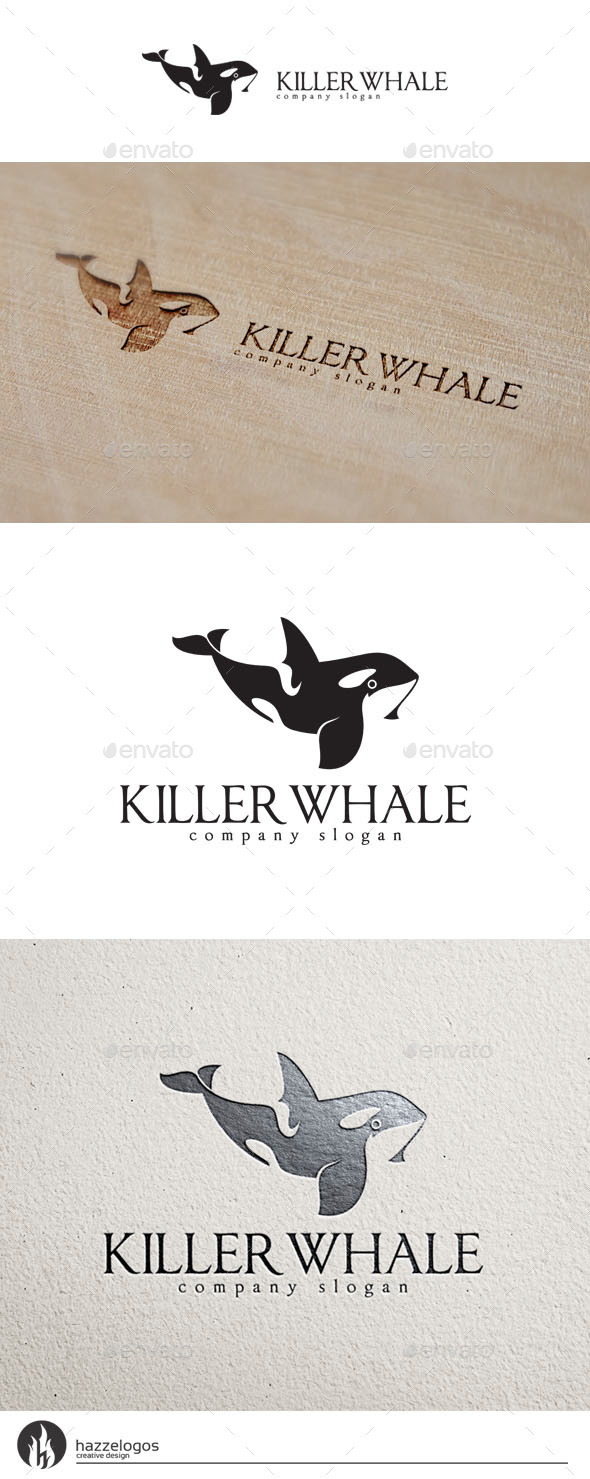 Killer Whale Logo - Animals Logo Templates