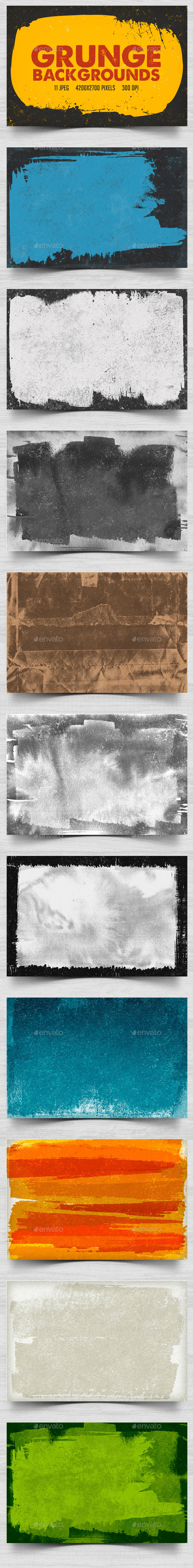 Grunge Backgrounds - Backgrounds Graphics