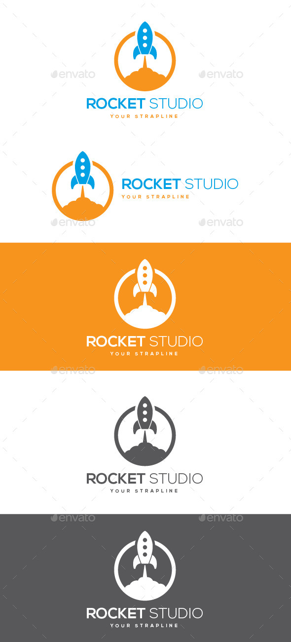 Rocket Studio Logo - Objects Logo Templates