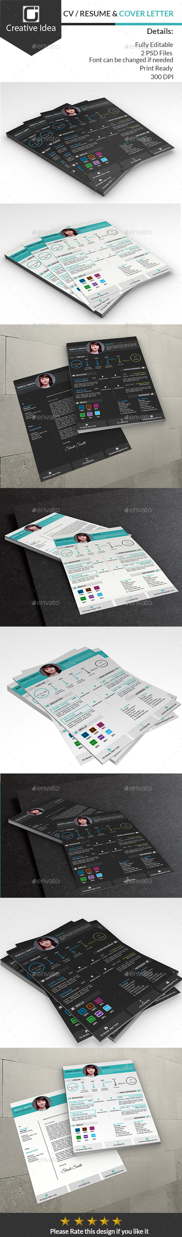 CV/Resume & Cover Letter - Resumes Stationery