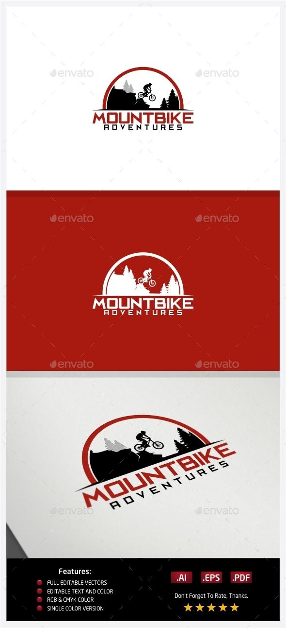 MountBike Adventures Logo - Nature Logo Templates