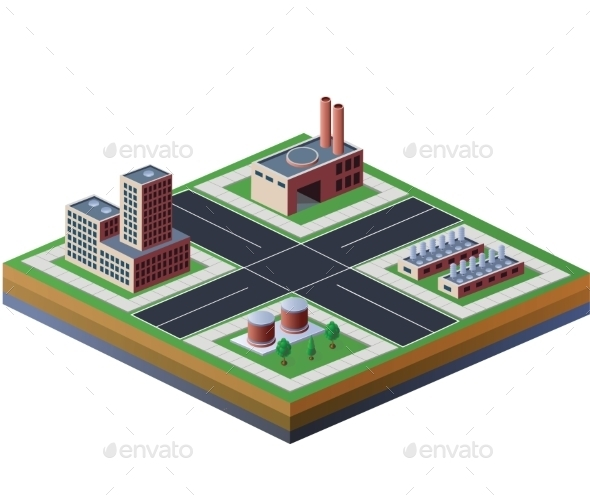 Factories - Buildings Objects