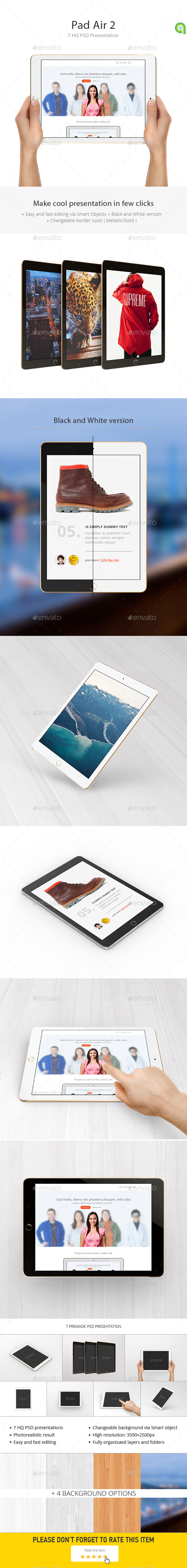 Tablet Mockup - Mobile Displays