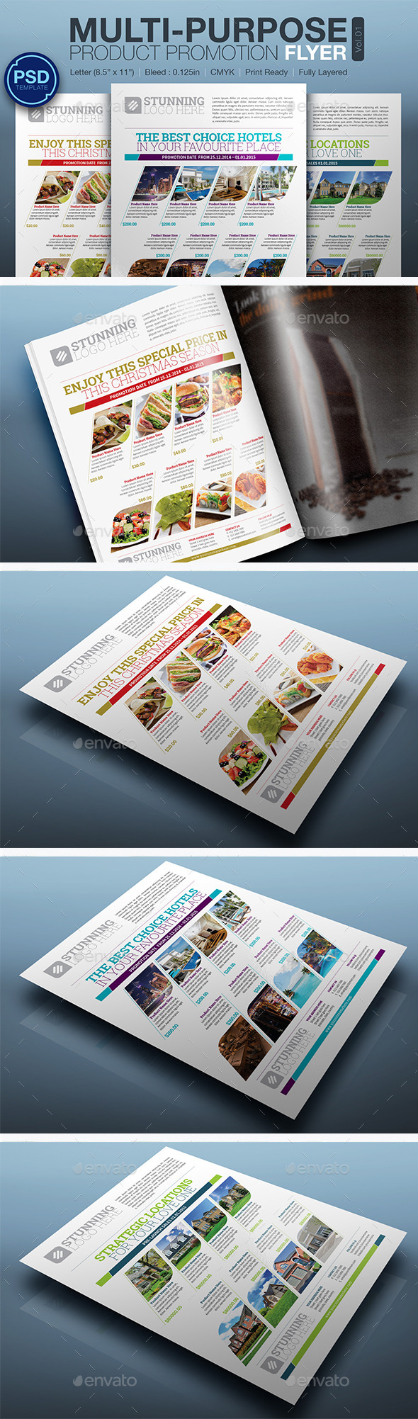 Product Promotion Flyer Vol.01 - Commerce Flyers