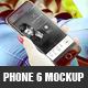 Realistic Phone 6 Mockup
