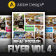 Real Estate Flyer | Vol 04 - GraphicRiver Item for Sale