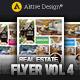 Real Estate Flyer | Vol 04 - GraphicRiver Item for Sale