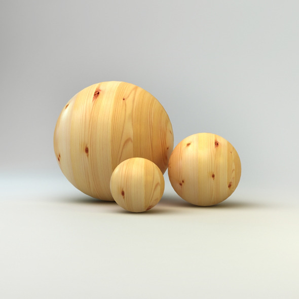 Realistic Wood Material - 3DOcean Item for Sale