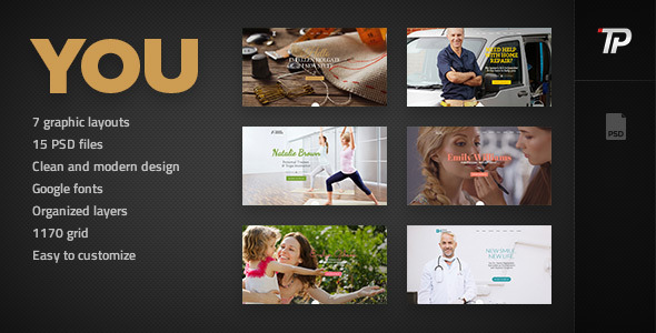 You – Personal PSD Template
