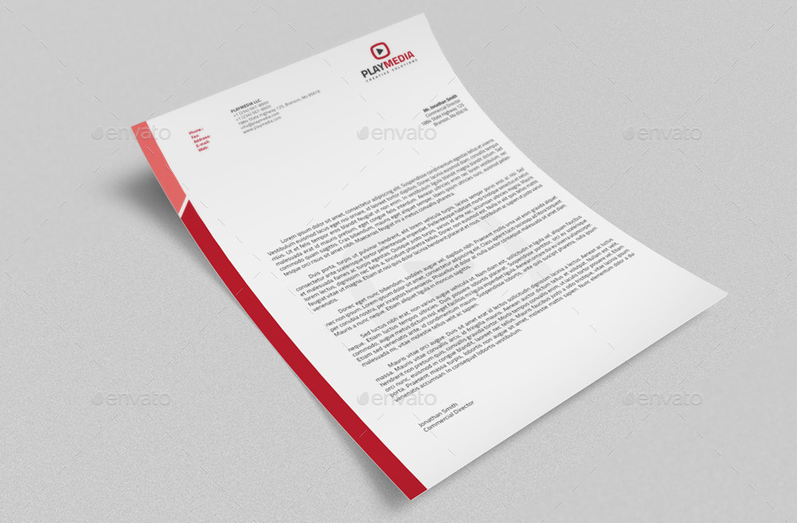 Corporate letterhead vol2 with ms word doc by nazdrag graphicriver corporate letterhead vol2 with ms word doc thecheapjerseys