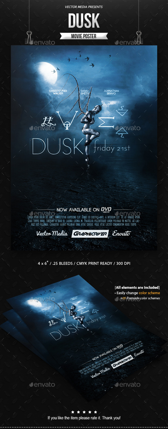 Dusk - Movie Poster - Miscellaneous Events