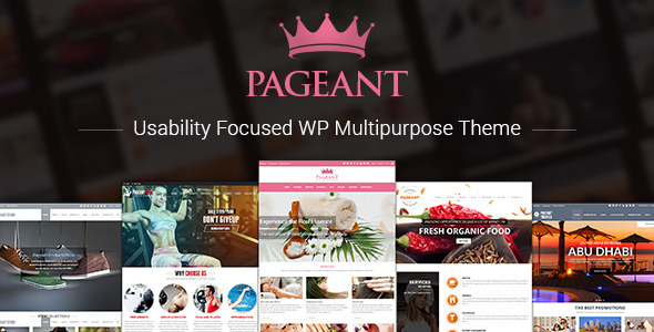 Pageant - Responsive Multipurpose Theme - Retail WordPress